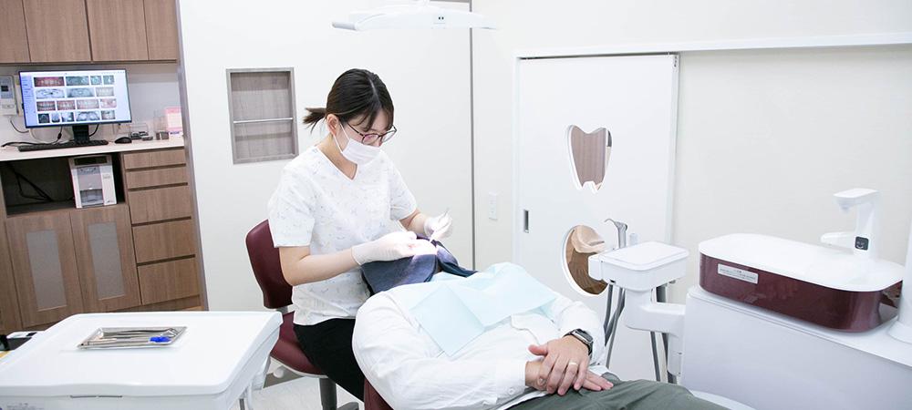 歯を削らない治療